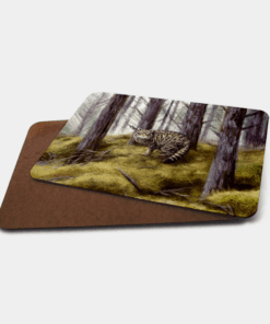 Country Images Personalised Printed Custom Placemats Tablemats Cheap Highland Collection Wildcat Wildcats Wild Cat Cats Scotland Scottish Gift Gifts Ideas Tableware (Board)