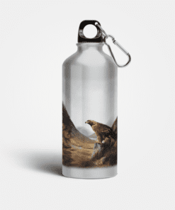 Country Images Aluminium Reusable Water Bottle Metal Highland Collection Golden Eagle Gifts Gift