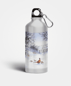 Country Images Aluminium Reusable Water Bottle Metal Highland Collection Pheasant Pheasants Gifts Gift