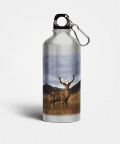 Country Images Aluminium Reusable Water Bottle Metal Highland Collection Stag Deer Gifts Gift