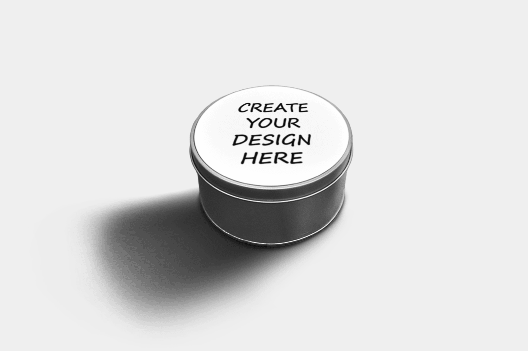 Country Images Custom Customised Personalised Round Tin Printed Gift Gifts Idea Biscuit Sweets Container Tins Highland Collection Create Your Own