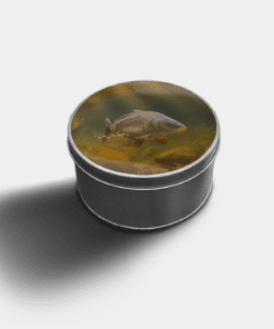 Country Images Custom Customised Personalised Round Tin Printed Gift Gifts Idea Biscuit Sweets Container Tins Mirror Carp Fishing Angling Angler Idea