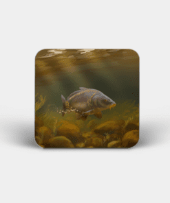 Country Images Personalised Custom Board Coaster Coasters Scotland Highland Collection Mirror Carp Angling Fishing Gift Gifts
