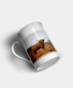 Country Images Personalised Custom Bone China Mug Highland Collection Highland Cow Hairy Coo Gift Gifts Idea Ideas 11