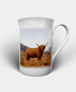 Country Images Personalised Custom Bone China Mug Highland Collection Highland Cow Hairy Coo Gift Gifts Idea Ideas 2