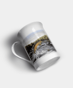 Country Images Personalised Custom Bone China Mug Highland Collection Leaping Brown Trout Fishing Angling Angler Fisherman Fish Gift Gifts Idea Ideas 11