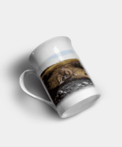 Country Images Personalised Custom Bone China Mug Highland Collection Otter Otters Gift Gifts Idea Ideas 11