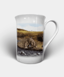 Country Images Personalised Custom Bone China Mug Highland Collection Otter Otters Gift Gifts Idea Ideas 2