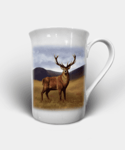 Country Images Personalised Custom Bone China Mug Highland Collection Stag Stags Deer Buck Bucks Gift Gifts Idea Ideas 2
