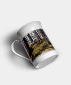 Country Images Personalised Custom Bone China Mug Highland Collection Wildcat Wildcats Wild Cat Cats Gift Gifts Idea Ideas 11