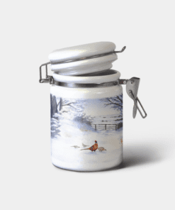 Country Images Personalised Custom Ceramic Hinged Storage Jars Highland Collection Pheasant Pheasants Gifts