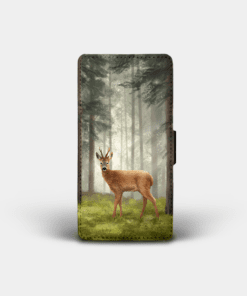 Country Images Personalised Custom Customised Flip Phone Cover Case Scotland Scottish Highlands Highland Roebuck Buck Deer Gift Gifts