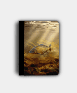 Country Images Personalised Custom Customised Flip iPad Cover Case Scotland Scottish Highlands Common Carp Angling Angler Fishing Gift Gifts 2