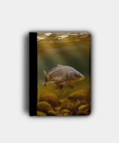 Country Images Personalised Custom Customised Flip iPad Cover Case Scotland Scottish Highlands Mirror Carp Angling Angler Fishing Gift Gifts 2