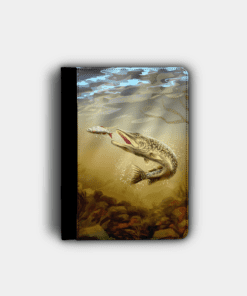 Country Images Personalised Custom Customised Flip iPad Cover Case Scotland Scottish Highlands Pike Angling Angler Fishing Gift Gifts 2