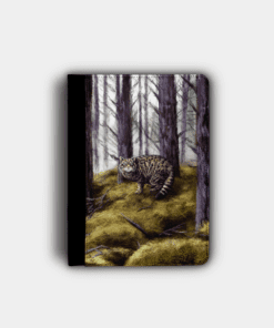Country Images Personalised Custom Customised Flip iPad Cover Case Scotland Scottish Highlands Wildcat Wildcats Wild Cat Cats Gift Gifts