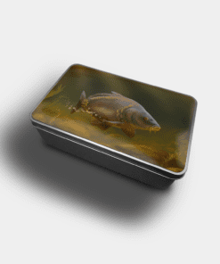 Country Images Personalised Custom Customised Rectangular Tin Tins Scotland Scottish Highlands Biscuit Sweet Mirror Carp Fishing Gift Gifts Angling 1