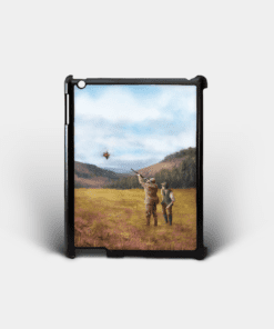 Country Images Personalised Custom Customised iPad Shell Cover Case Scotland Clay Pigeon Shooting Hunting Gift Gifts 2