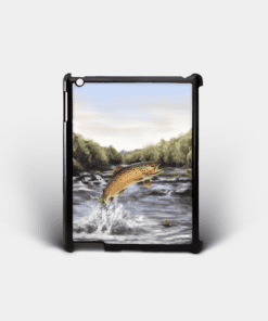 Country Images Personalised Custom Customised iPad Shell Cover Case Scotland Scottish Highlands Brown Trout Angling Angler Fishing Gift Gifts 2