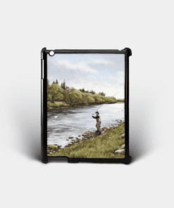 Country Images Personalised Custom Customised iPad Shell Cover Case Scotland Scottish Highlands Fly Fishing Angling Angler Fishing Gift Gifts 2
