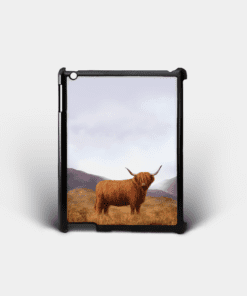 Country Images Personalised Custom Customised iPad Shell Cover Case Scotland Scottish Highlands Highland Cow Hairy Coo Gift Gifts 2