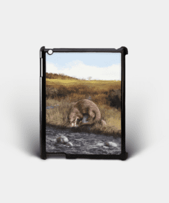 Country Images Personalised Custom Customised iPad Shell Cover Case Scotland Scottish Highlands Highland Otter Otters Gift Gifts 2