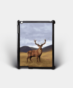 Country Images Personalised Custom Customised iPad Shell Cover Case Scotland Scottish Highlands Highland Stag Stags Deer Buck Bucks Gift Gifts 2