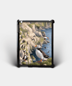Country Images Personalised Custom Customised iPad Shell Cover Case Scotland Scottish Highlands Puffin Puffins Seabirds Sea Bird Gift Gifts