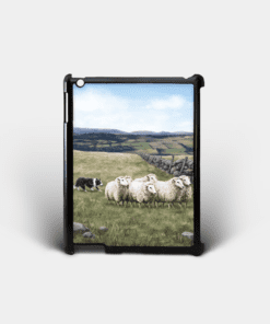 Country Images Personalised Custom Customised iPad Shell Cover Case Scotland Scottish Highlands Sheep Sheepdog Crofting Crofter Farming Gift Gifts 2