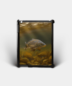 Country Images Personalised Custom Customised iPad Shell Cover Case Scotland Scottish Mirror Carp Angling Angler Fishing Gift Gifts 2