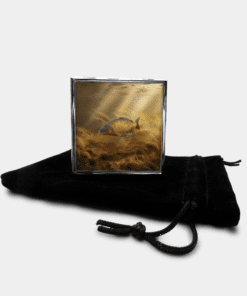 Country Images Personalised Custom Metal Pill Boxes Box Scotland Highlands Common Carp Angling Angler Fishing Gift Gifts