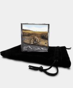 Country Images Personalised Custom Metal Pill Boxes Box Scotland Highlands Highland Otter Otters Gift Gifts