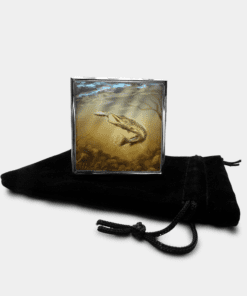 Country Images Personalised Custom Metal Pill Boxes Box Scotland Highlands Pike Angling Angler Fishing Gift Gifts