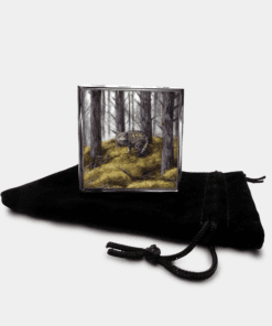 Country Images Personalised Custom Metal Pill Boxes Box Scotland Highlands Wildcat Wildcats Wild Cat Cats Gift Gifts