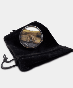 Country Images Personalised Custom Round Metal Pill Boxes Box Scotland Highlands Otter Otters Gift Gifts
