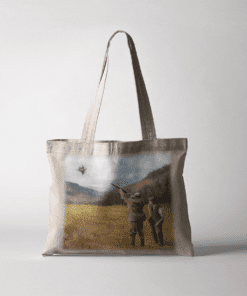 Country Images Personalised Exclusive Clay Pigeon Shooting Hunting Sporting Cheap Tote Bag Scotland UK