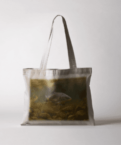 Country Images Personalised Exclusive Mirror Carp Fishing Angling Sporting Cheap Tote Bag Scotland UK