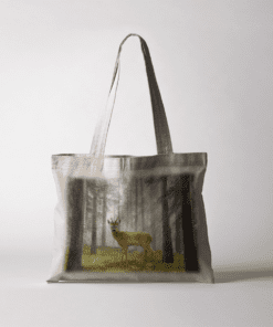 Country Images Personalised Highland Collection Scottish Roe Buck Wildlife Cheap Tote Bag Scotland UK
