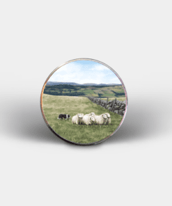 Country Images Personalised Printed Custom Magnet Cheap Highland Collection Farming Croft Crofting Crofter Customised Gift Gifts