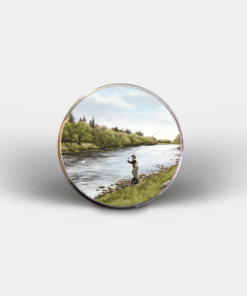 Country Images Personalised Printed Custom Magnet Cheap Highland Collection Fly Fishing Fisher Angling Angler Customised Gift Gifts