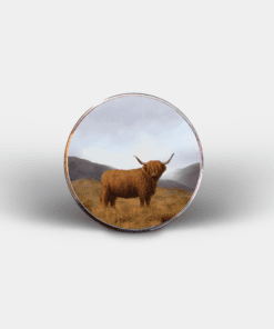 Country Images Personalised Printed Custom Magnet Cheap Highland Collection Highland Cow Customised Gift Gifts