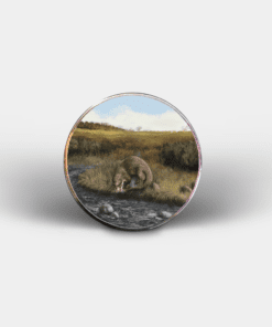 Country Images Personalised Printed Custom Magnet Cheap Highland Collection Otter Otters Customised Gift Gifts