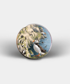 Country Images Personalised Printed Custom Magnet Cheap Highland Collection Puffin Puffins Customised Gift Gifts