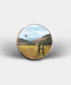 Country Images Personalised Printed Custom Magnet Cheap Hunting Clay Pigeon Shooting Sport Sports Customised Gift Gifts