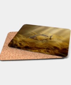 Country Images Personalised Printed Custom Placemats Tablemats Cheap Highland Collection Common Carp Scotland Scottish Gift Gifts Ideas Tableware (Cork) 1