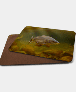 Country Images Personalised Printed Custom Placemats Tablemats Cheap Mirror Carp Scotland Scottish Gift Gifts Ideas Tableware Fishing Fisherman Angling Angler (Board)