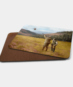 Country Images Personalised Printed Custom Placemats Tablemats Cheap Scotland Scottish Gift Gifts Ideas Tableware Clay Pigeon Shooting Hunting (Board)