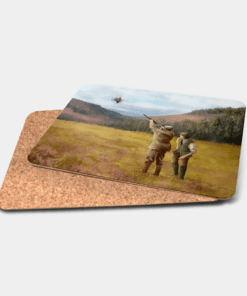 Country Images Personalised Printed Custom Placemats Tablemats Cheap Scotland Scottish Gift Gifts Ideas Tableware Clay Pigeon Shooting Hunting (Cork)