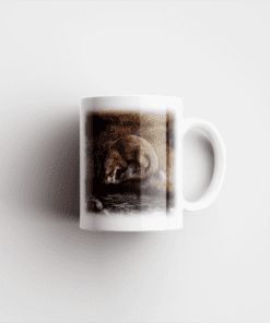 Country Images Personalised Printed Highland Collection Otter Scotland Design Cheap Mug - 2