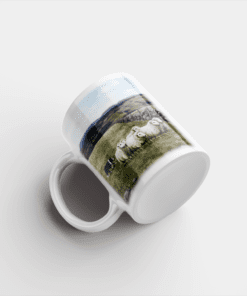 Country Images Personalised Printed Highland Collection Sheep Scotland Design Cheap Mug - 1